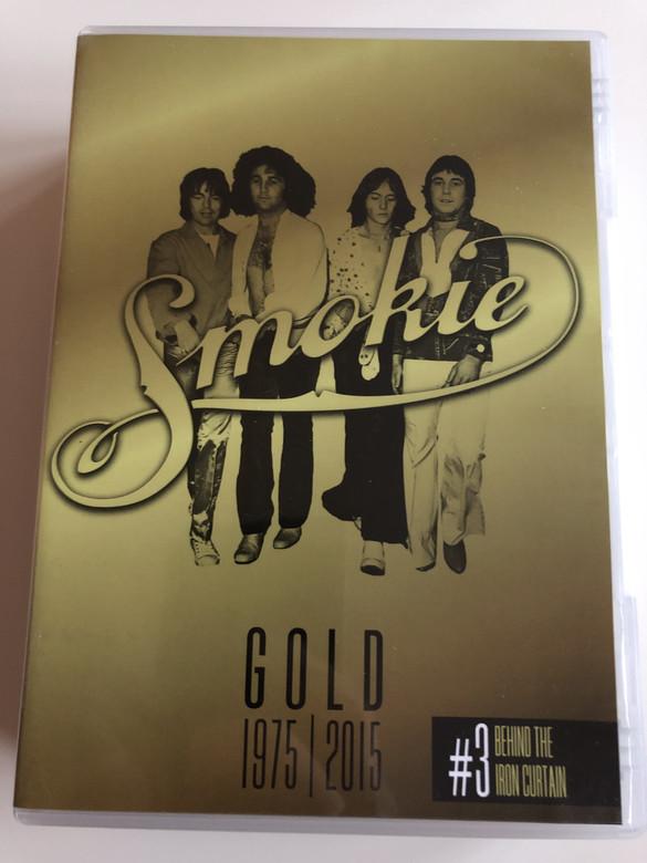 Smokie Gold 1975 - 2015 DVD #3 / 40th Anniversary Edition / Behind the Iron Curtain / East Berlin 1976 - Sofia 1983 - Bratislava 1983 + Glitzerlicht und Hinterhöfe Documentary / Sony Music (88875005219/3)