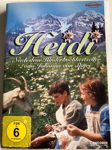 Heidi DVD 1993 Nach dem Kinderbuchbestseller von Johanna von Spyri / Directed by Michael Rhodes / Starring: Noley Thornton, Jason Robards, Jane Seymour, Jane Hazlegrove, Ben Brazier, Lexi Randall / American TV miniseries (4010324021885)