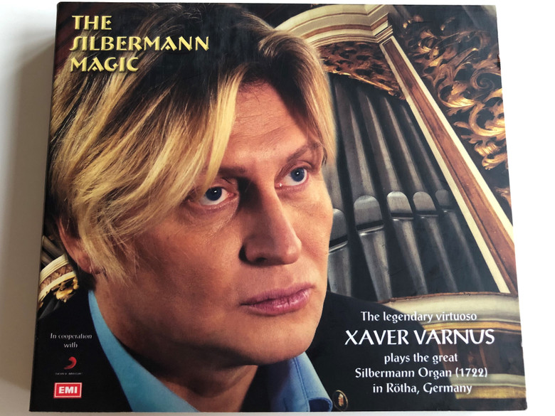 The Silbermann Magic - Xaver Varnus / The legendary virtuoso plays the great Silbermann Organ (1722) in Rötha, Germany / J. S. Bach, F. Mendelssohn-Bartholdy / CD + 2 DVD / EMI (4230277891919)