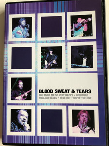 Blood Sweat & Tears / You made me so very Happy - Overture - Nuclear Blues - Hi De Ho - You're the One / Civic Theatre Halifax / Air017DVD (5033107911790)