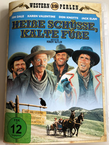 Hot Lead and Cold Feet DVD 1978 Heiße Schüsse, Kalte Füße / Directed by Robert Butler / Starring: Jim Dale, Karen Valentine, Don Knotts, Jack Elam / Western 19 Perlen (4059251278948)