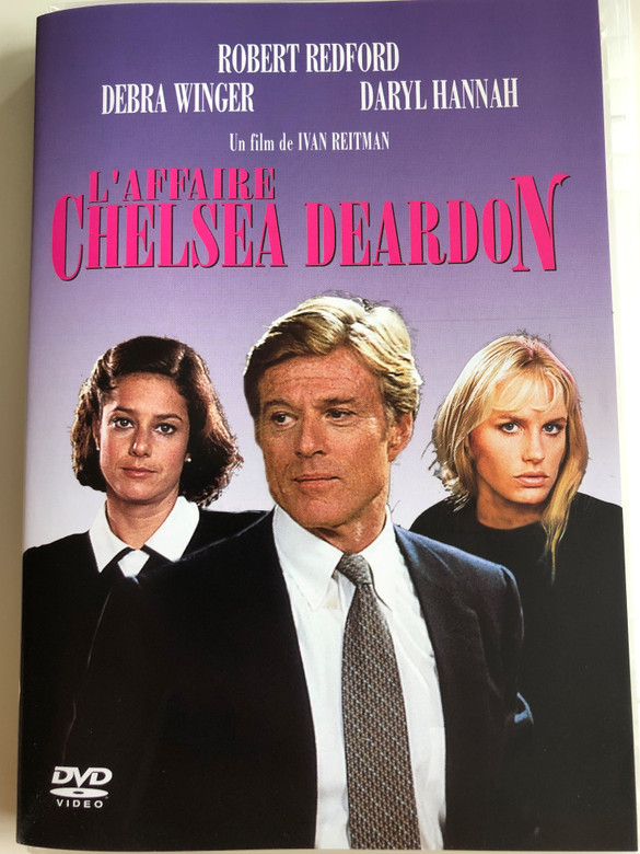 Legal Eagles DVD 1986 L'Affaire Chelsea Deardon / Directed by Ivan Reitman / Starring: Robert Redford, Debra Winger, Daryl Hannah (3700173218147)