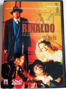 George Frideric Handel (韓德爾) - Rinaldo (里纳尔多) 2 DVD / Opera Seria in Three Acts / Prinzregententheater, Munich / Conducted by Harry Bicket / Directed for video Brian Large (4719864107607)