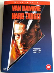 Hard Target DVD 1993 / Directed by John Woo / Starring: Jean-Claude Van Damme, Lance Henriksen, Yancy Butlar, Wilford Brimley (5035822004740)