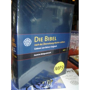 German MP3 Audio BIBLE on 5 MP3-CDs / Die Bibel nach der Ubersezung Martin Luthers