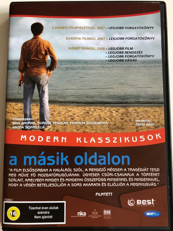 Auf der Anderen Seite DVD 2007 A Másik oldalon (The Edge of Heaven) / Directed by Fatih Akın / Starring: Baki Davrak, Murgül Yesilcay, Patrycia Ziolkowska, Hanna Schygulla (5998133188038)