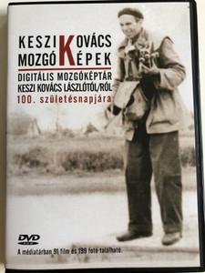 Keszi Kovács Mozgó Képek DVD 2008 / Digitális Mozgóképtár Keszi Kovács Lászlótól/ról 100. születésnapjára / 91 films and 199 photos from Keszi Kovács László (9789630644402)