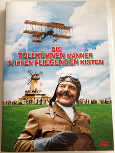 Those Magnificent Men in Their Flying Machines DVD 1965 Die tollkühnen Männer in ihren fliegenden Kisten / Directed by Ken Annakin / Starring: Stuart Whitman, Sarah Miles, Terry-Thomas, Robert Morley, James Fox / AKA How I Flew from London to Paris in 25 Hours 11 Minutes (4010232029973)