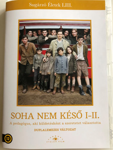 Non É Mai Troppo Tarti I-II. DVD 2014 Soha nem Késő I-II. / Directed by Giacomo Campiotti / Starring: Claudio Santamaria, Nicole Grimaudo, Gennaro Mirto, Lucio Mscino, Alberto Molinari / 2 DVD (5999886090142)