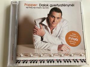"""Popper: Dalok gyertyafénynél / Egy hang, egy zongora, egy érzés / Rajta """"végtelen a 9 1/2 randi gyönyörű duettje / Audio CD / DBMM214 (5051442701524)"""