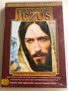 Jesus of Nazareth II/1. DVD 1977 A názáreti Jézus / Directed by Franco Zeffirelli / Starring: Robert Powell, Anne Bancroft, Claudia Cardinale, Valentina Cortese, Ian McShane, Sir Laurence Olivier / Extended - Remastered Edition (5999886089023)