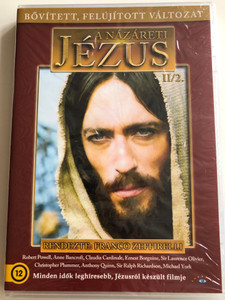 Jesus of Nazareth II/2. DVD 1977 A názáreti Jézus / Directed by Franco Zeffirelli / Starring: Robert Powell, Anne Bancroft, Claudia Cardinale, Valentina Cortese, Ian McShane, Sir Laurence Olivier / Extended - Remastered Edition (5999886089030)