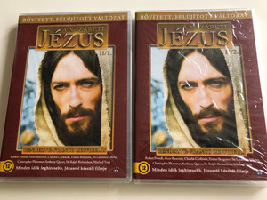 Jesus of Nazareth DVD SET 1977 A názáreti Jézus / Directed by Franco Zeffirelli / Starring: Robert Powell, Anne Bancroft, Claudia Cardinale, Valentina Cortese, Ian McShane, Sir Laurence Olivier / Extended - Remastered Edition / 2 DVD (JESUS1977-2dvdset)