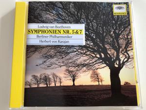 Ludwig van Beethoven - Symphonien Nr. 5 & 7 / Berliner Philharmoniker / Conducted by Herbert von Karajan / Audio CD / Resonance / 445 005-2 (028944500523)