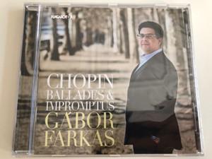 Chopin Ballades & Impromptus - Gábor Farkas / Audio CD 2019 / Hungaroton (5991813282927)