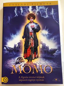 Momo DVD 1986 / Directed by Johannes Schaaf / Starring: Radost Bokel, Mario Adorf, Armin Mueller-Stahl, Sylvester Groth, Leopoldo Trieste (5999886089771)