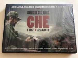 Che: Part one DVD 2008 Che - Az argentin / Directed by Steven Soderbergh / Starring: Benicio del Toro, Demian Bichir, Santiago Cabrera, Vladimir Cruz, Julia Ormond (5999075600190)