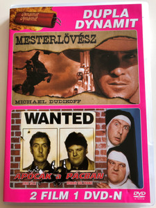 Dupla Dynamit / The Shooter 1997 Mesterlövész - Directed by Fred Olen Ray - Starring: Michael Dudikoff, Randy Travis, William Smith / Nuns on the Run 1990 Apócák a Pácban - Directed by Jonathan Lynn / Starring: Eric Idle, Robbie Coltrane / 2 films on 1 DVD (5996473008696)
