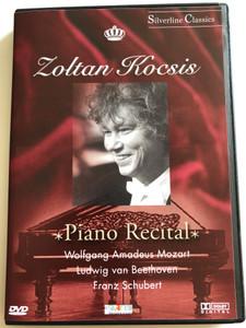 Zoltán Kocsis - Piano Recital DVD 1998 / Wolfgang Amadeus Mozart, Ludwig van Beethoven, Franz Schubert / Silverline Classics / IPH4129 (5999881067972)