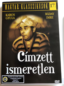 Címzett Ismeretlen DVD 1935 Recipient unknown / Directed by Gaál Béla / Starring: Kabos Gyula, Ráday Imre, Ágay Irén / Hungarian B&W Classic / Magyar Klasszikusok 17. (5999544560291)