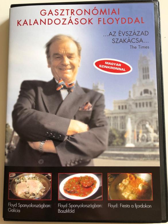 3 Gastronomical film adventures DVD Floyd on Spain - Galicia, Basque Country / Floyds Fjord Fiesta / Gasztronómiai Kalandozások Floyddal / Az évszázad szakácsa / Hungarian Dub (5999881068740)