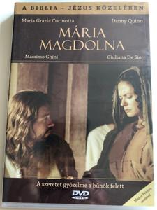 Gli amici di Gesú - Maria Maddalena DVD 2000 Jézus Közelében - Mária Magdolna (Close to Jesus: Mary Magdalene) / Directed by Raffaele Mertes / Starring: Maria Grazia Cucinotta, Danny Quinn, Massimo Ghini (5999883203392)