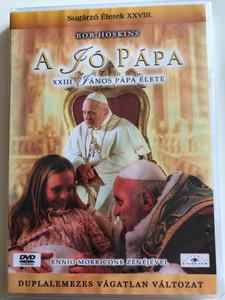 Il Papa Buono DVD 2003 A jó Pápa (The Good Pope) / Directed by Ricky Tognazzi / Starring: Bob Hoskins, Carlo Cecchi, Roberto Citran, Fabrizio Vidale, Sergio Bini Bustric (5999883203934)