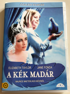 The Blue Bird DVD 1976 A Kék madár / Directed by George Cukor / Starring: Elizabeth Taylor, Jane Fonda, Ava Gardner, Patsy Kensit, Todd Lookinland (5999886089306)