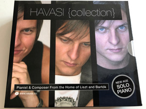 Havasi Balázs 3 CD Collector's Box / Piano - Seven - Infinity / New Age Solo Piano (5099951575328)