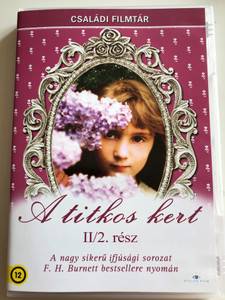 The Secret Garden Part II DVD 1975 A titkos kert II. rész/ Directed by Dorothea Brooking / Starring: Sarah Hollis Andrews, Hope Johnstone, William Marsh, David Patterson / Based on Frances Hodgson Burnett's Novel (5999886089238)