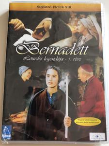 La passion de Bernadette Part I. DVD 1989 Bernadett Lourdes legendája 1. rész / Directed by Jean Delannoy / Starring: Sydney Penny, Michéle Simonnet, Roland Lesaffre / Sugárzó Életek XIII. (5999883203187)