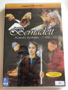 La passion de Bernadette Part II. DVD 1989 Bernadett Lourdes legendája 2. rész / Directed by Jean Delannoy / Starring: Sydney Penny, Michéle Simonnet, Roland Lesaffre / Sugárzó Életek XIV. (5999883203194)