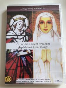 A Magyarság szentjei II DVD 2008 The Hungarian Saints / Árpád-Házi Szent Erzsébet, Árpád-házi Szent Margit / Documentary about St. Erzsébet and St. Margit (5999883203347)