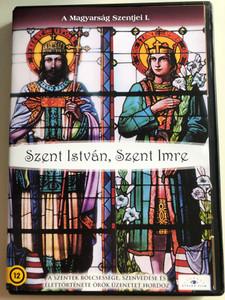 A Magyarság szentjei I DVD 2008 The Hungarian Saints I / Szent István, Szent Imre / Documentary about the 1st Hungarian King István and his heir Imre / Ezer év szentjei / Etalon film (5999883203330)