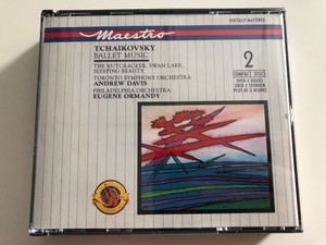 Tchaikovsky - Ballet Music / The Nutcracker, Swan Lake, Sleeping Beauty / Toronto Symphony Orchestra / Conducted by Andrew Davis / Philadelphia Orchestra / Conducted by Eugene Ormandy / 2 CD - Over 2 hours / M2Yk 45619 (5099704561929)