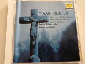 Mozart - Requiem / Wilma Lipp - Hilde Rössel-Majdan - Andton Dermota - Walter Beny / Wiener Singverein / Berliner Philharmoniker / Conducted by Herbert von Karajan / Resonance / 429 160-2 / Audio CD (028942916029)