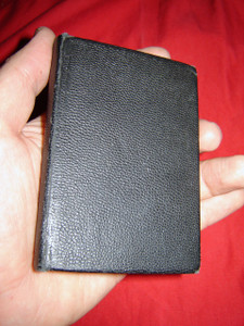 Russian New Testament printed in 1964 in the USA / Pocket size Black [Hardcover]