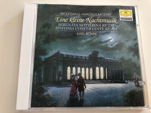 W. A. Mozart - Eine Kleine Nachtmusik / Serenata Notturna KV 239 / Simfonia Concertante KV 364 / Berliner Philharmoniker / Conducted by Karl Böhm / Audio CD (028942720824)
