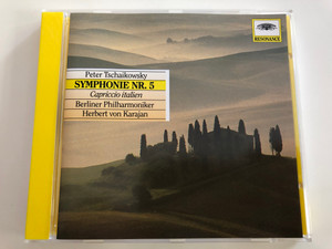 Peter Tschaikowsky - Symphonie Nr. 5 / Capriccio italien / Berliner Philharmoniker / Conducted by Herbert von Karajan / Audio CD / Resonance 445 026-2 (028944502626)