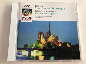 Berlioz - Symphonie Fantastique / Rimsky-Korssakoff: Capriccio espagnol / Georgian Festival Orchestra / Conducted by Jahni Mardjani / Audio CD 1994 / QK66170 (5099706617020)