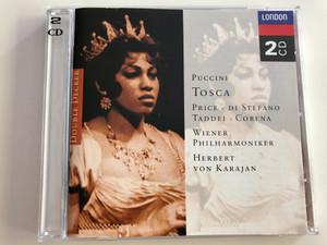 Puccini - Tosca / Price - Di Stefano - Taddei - Corena / Wiener Philharmoniker / Conducted by Herbert Von Karajan / Double Decker 2CD / Audio CD (028945262024)