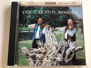The Lakatos Dinasty / Sándor Lakatos and his Gipsy Band, Sándor Déki, Lakatos and His Gipsy band / Qualiton / Audio CD 1989 / HCD 10252 (HCD10252)