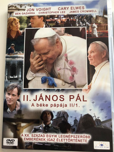 Giovanni Paolo II. DVD 2005 II. János Pál - A béke pápája II/1. (Pope John Paul II) / Directed by John Kent Harrison / Starring: Jon Voight, Cary Elwes, Ben Gazzara, Christopher Lee (5999883203163)