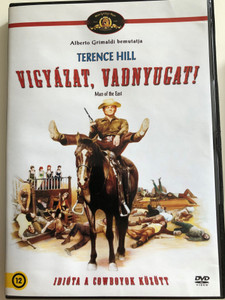 Man of the East DVD 1972 Vigyázat, vadnyugat! (...E poi lo chiamarono il Magnifico) / Directed by: E.B. Clucher / Starring: Terence Hill, Gregory Walcott (5999546332599