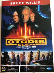 The Fifth Element DVD 1997 Az ötödik elem - Felújított változat / Directed by Luc Besson / Starring: Bruce Willis, Milla Jovovich, Gary Oldman (5998133130334)