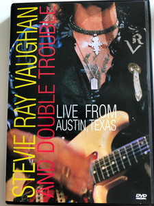 Stevie Ray Vaughan and Double Trouble DVD 1995 / Live from Austin, Texas / Directed by Gary Menotti (5099720181699)