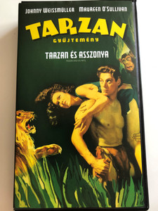 Tarzan and his mate VHS 1934 Tarzan Gyűjtemény 2. / Directed by Cedric Gibbons / Starring: Johnny Weissmüller, Maureen O'Sullivan (5999010410990)