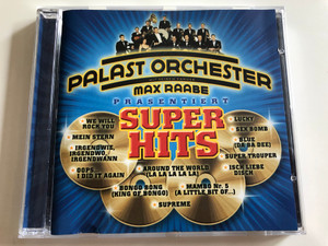 Palast Orchester - Super Hits / Max Raabe / We Will Rock You, Mein Stern, Lucky, Mambo Nr. 5, Supreme / Audio CD 2001 (743218512124)