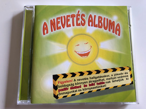 Christian Satri - A nevetés albuma / Laughter Album - for meditational and therapeuthical purposes / CHR-7 / Audio CD (NevetesCD)