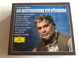 Richard Wagner - Die Meistersinger von Nürnberg / Dietrich Fischer-Dieskau, Catarina Ligendza, Christa Ludwig, Placido Domingo, Horst R. Laubenthal, Roland Hermann / Chor und Orchester der Deutschen Oper / Cond. Eugen Jochum / Audio CD SET - 4 CD (028941527820)